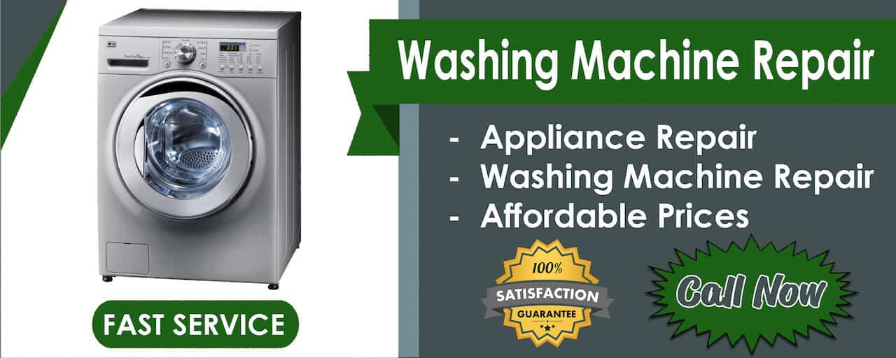 washer repair banner